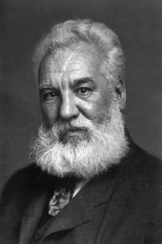 Alexander Graham Bell  An eminent scientist, inventor, engineer and innovator who is credited with inventing the first practical telephone. Date: 1904. Photographer: Unknown – Print from Library of Congress.