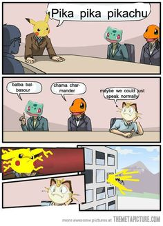 Pokemon Meeting…