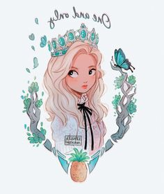 my one and only     #LOONA #GoWon Girl Drawing Sketches, Girly Drawings, Cartoon Girl Drawing, Cartoon Drawings, Pretty Art, Cute Art, Digital Art Girl, Cartoon Art Styles, Character Drawing