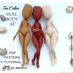 This PDF, pdf Tom's starlet doll pdf pattern doll, PDF Sewing pattern body doll pdf pattern and tutorial Cloth Doll Pattern textile doll art doll is just one of the custom, handmade pieces you'll find in our tutorials shops. Doll Clothes Patterns, Pdf Sewing Patterns, Textile Patterns, Doll Patterns, Sewing Clothes, Doll Crafts, Diy Doll, Tilda Toy, Diy Bebe