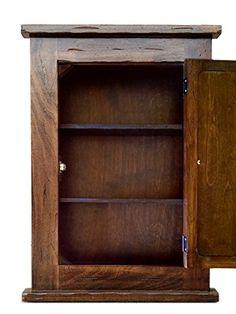 Medicine Cabinet Rustic Solid Wood & handmade