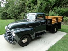 1949 Chevrolet Truck 1949 Chevy Truck, Truck Flatbeds, Train Truck, Classic Chevy Trucks, Chevrolet Trucks, Trucks Only, Cool Trucks, Big Trucks, Old Pickup Trucks