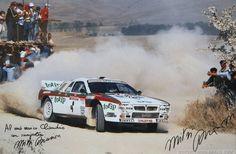 #Sanremo Rally #Lancia Rally 037 #Jolly Club
