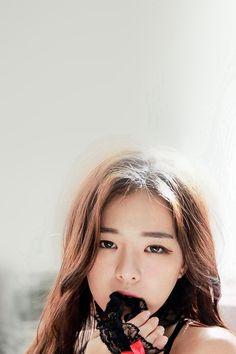Haneul Girl Cute Model Kpop #iPhone #4s #wallpaper