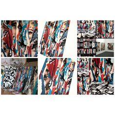 Zsuzsi Csiszer - studio, oilcanvas paintings Photo Wall, Polaroid Film, Sketches, Graphics, Draw, Studio, Paintings, Gallery, Home Decor