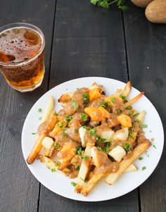 Authentic Vegetarian Poutine, from The Vegetarian Food Lab