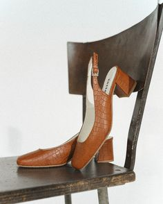 Jeanne is a classic, slingback vegan heel, set on a comfortable, elegant block heel. With a sculptural design, this classy shoe will dress up any outfit, whether it's a floaty summer dress or a tailored pencil skirt. Floaty Summer Dresses, Vegan Shoes, Block Heels, Chelsea Boots, Dress Up, Pencil, Classy, Skirt, Elegant