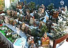 xmas village displays | Christmas Village Displays