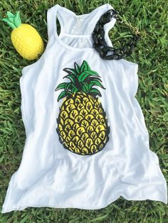 cute pineapple tank