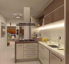 Ótima ideia para cozinha ❤️❤️❤️ Pequena e funcional  - #cozinha #design #decoração #arquitetura #novidades #Instagram #euqueronaminhacasa
