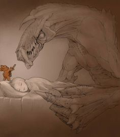 This is why you sleep with a teddy bear... <3