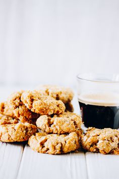 oaty biscuits with coconut flavor
