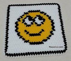 Emoji, Bat Signal, Superhero Logos, Knit Crochet, Knitting, Blankets, Models, Round Shag Rug, Key Chains