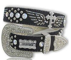 Winged Cross western belt from www.cowgirlshine.com