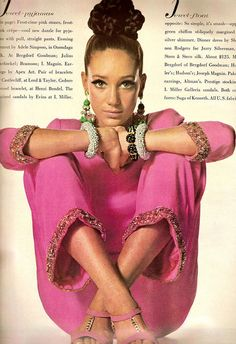 '60s fashion.