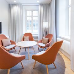 Administration at Uppsala University Hospital – Input interior – Projects Uppsala University, Archi Design, Architectural Features, Rum, Dining Chairs, Meeting Rooms, Interior Design, Conference Room, House