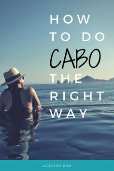 Cabo San Lucas, Mexico is the perfect mix of adventure, fun under the sun and R&R