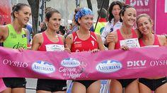 Carrera de la Mujer Sevilla 2016 (Llegada) - Un emotivo gesto de solidar...