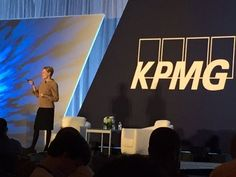 """Transit is a key point of focus for driving business growth in Atlanta"" - Hala Moddelmog, President and CEO, Metro Atlanta Chamber #KPMGPerspectives15"