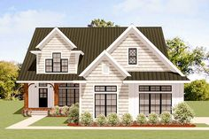 Charming Traditional House Plan with Options - 46330LA | Architectural Designs - House Plans