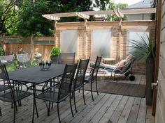 Deck, pergola, decorative screen Deck Pergola, Decorative Screens, Backyard, Patio, Outdoor Decor, Projects, Home Decor, Log Projects, Terrace