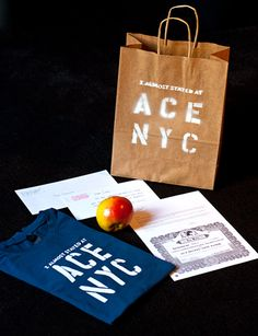 Ace Hotel / Collateral: Pendleton Blankets, Stationery, Keycards / The Official Manufacturing Company Ace Hotel, Hotel Stay, Hotel Branding, Best Hotels, Pendleton Blankets, Identity, Stationery, Nyc, Graphic Design