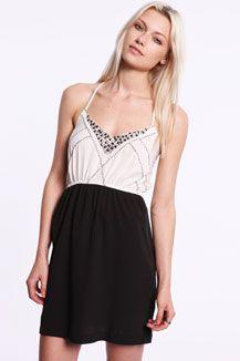 Ecote Embelished Strappy Dress