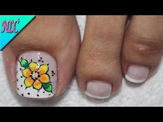 Nail Tutorials, Toe Nails, Pedicure, Nail Designs, Nail Art, Turquoise, Khloe Kardashian, Ideas Para, Youtube