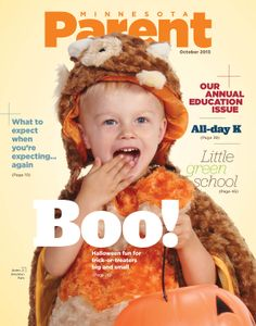 November 2013 cover star, Aiden, 2, of Brooklyn Park.