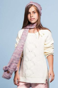 Triko Genç Kız Kazak Sweaters, Fashion, Moda, Fashion Styles, Sweater, Fashion Illustrations, Sweatshirts, Shirts