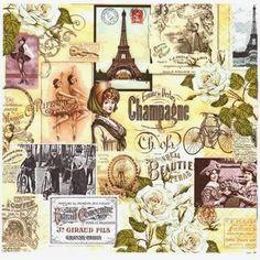 MI MALETA DE RECORTES: Láminas y Servilletas Vintage y + para Decoupage