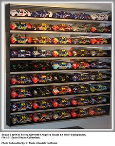 diecast car display case