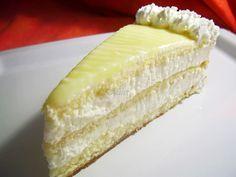 Lemon cake Dessert Cake Recipes, Desserts, Food Cakes, Homemade Cakes, Vanilla Cake, Mousse, Cheesecake, Lemon, Yummy Food