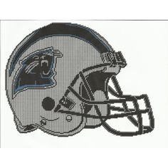 NORTH CAROLINA PANTHERS HELMET PLASTIC CANVAS PATTERN Listing in the Plastic Canvas,Needlework,Crafts, Handmade & Sewing Category on eBid United States | 144629758