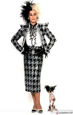 Glen Close as Cruella De Vil for Disney's 101 Dalmations