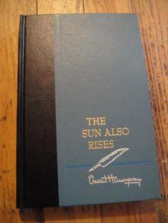 Résultats Google Recherche d'images correspondant à http://www.gonecountryantiques.com/pictures/Ernest-Hemingway-The-Sun-Also-Rises-1954(1).jpg