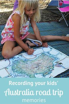Your Kids will love these travel maps, notebooks and journals!