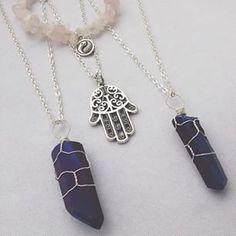 Gemstone and symbol jewelry