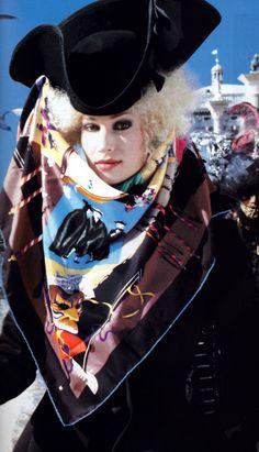 Hermès, Elle magazine, December 1993.