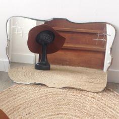 Miroir biseauté ancien - Hello Vintage Shop - Meubles, objets, decoration, mode, jouets vintage et (re)-creations pour petits et grands enfants