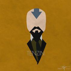 Tenzin by johnisorena.deviantart.com on @deviantART