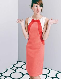 'I WANT TO BE A UNICORN!!'  Rose Bow Dress WH791 Smart Day Dresses at Boden