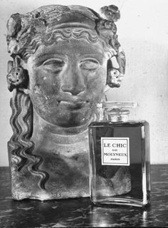 Le Chic perfume bottle    Photographs by Hans Wild.  From the historical archives of LIFE Magazine 1947.
