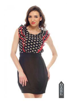 Lipsy Frill Top 2 In 1 Dress by Ozel Studio