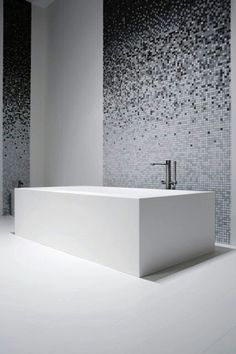 grayscale mosaic tiles