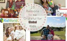 Grateful for global children