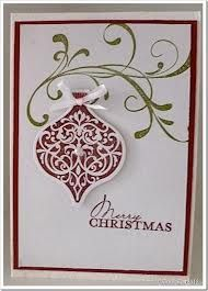 stampin up christmas bauble cards - Google Search