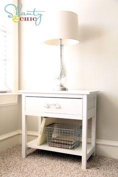 Shanty-2-chic DIY bedside table