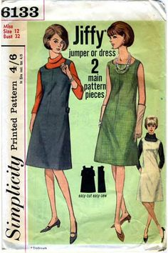 Jumper dress pattern uk