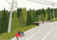 Travel the World with Ryo Takemasa's Cute Illustrations